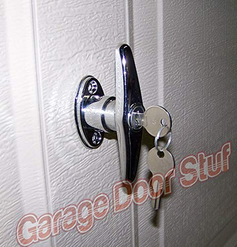 Great Features Of Garage Door Lock T Handle Assembly- KEYED