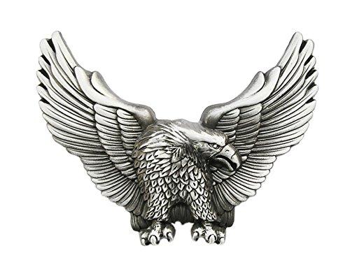Schnalle123 Gürtelschnalle Adler Eagle Amerika Vogel 3D Optik für Wechselgürtel Gürtel Schnalle Buckle Modell 71