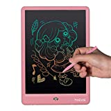 Mooedcoe Tableta de Escritura para Niños LCD 10 Pulgadas, Tableta de Escritura Borrado Parcial con Memoria - Tableta Escritura LCD Digital