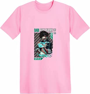 Giron My Hero Academia Anime T-Shirt Boku no Hero Todoroki Shoto Manica Corta Top Dabi Tomura Estate Casual Manga Hero Cot...