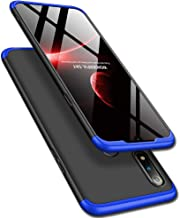 TheGiftKart Full Body 3 in 1 Slim Fit 360 Degree Protection Hard Bumper Back Case Cover for Realme 3 Pro (Blue Black)