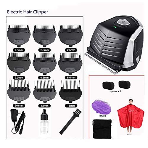 Kyman Cordless Selbst Cut Haarschneider Haarschneider, Wasserdicht Haarschneide Kit for Männer, Wiederaufladbare Männliche Hygiene Razor A