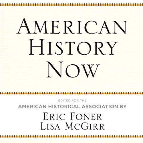 American History Now audiobook cover art