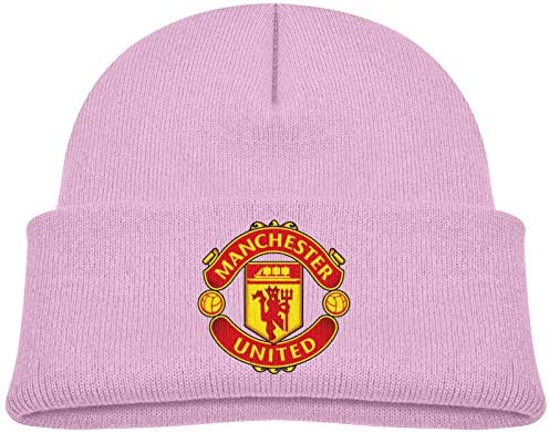 Ma Nchester U Nited Kids Hat Knitted Beanie Skull Warm Winter Unisex for Baby Cuffed Beanie product image