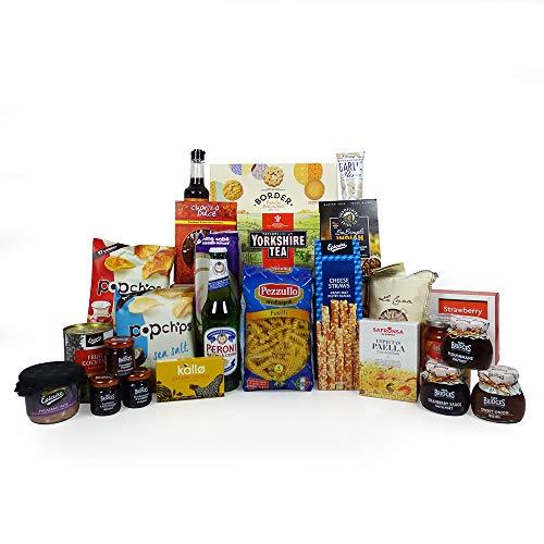 Food Cupboard Selection Hamper 25 Items - Ideas for him, her, Birthday, Grandma, Grandad, Mum, Dad, Son, Daughter, Thank you, Student