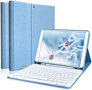 iPad 8キーボードケース 10.2インチ iPad ケース iPad 10.2 ケース キーボード iPad 第7世代 キーボードケース iPad Air(第3世代) 2017 Pro 10.5 通用 Apple Pencil 収納可能 着...