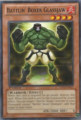 Yu-Gi-Oh! Battlin39; Boxer Glassjaw (LTGY-EN017) - Lord of the Tachyon Galaxy - Unlimited Edition - Common