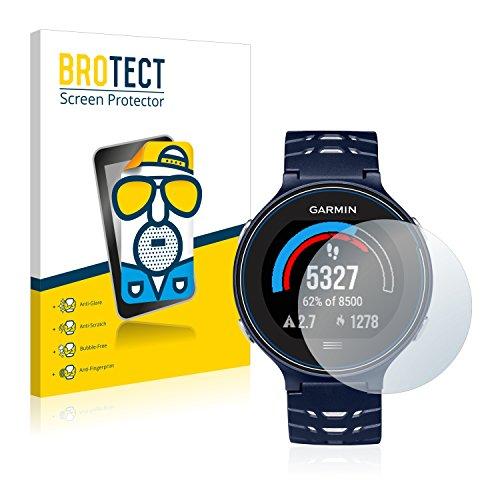 BROTECT 2X Entspiegelungs-Schutzfolie kompatibel mit Garmin Forerunner 630 Bildschirmschutz-Folie Matt, Anti-Reflex, Anti-Fingerprint