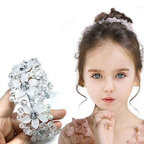 Haarschmuck Blumenmädchen für Mädchen und Frauen Bridal Wedding Tiaras