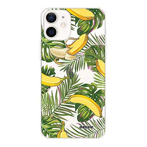 Carcasa para iPhone 12 Mini, diseño de plátanos Tropicales