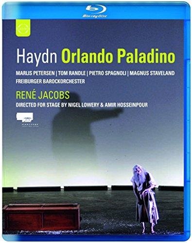 ハイドン『オルランド・パラディーノ』全曲 ヤーコプス&フライブルク・バロック管、ペーターゼン、他 [Blu-ray]