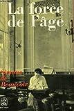 La force de l'âge. - NRF Gallimard