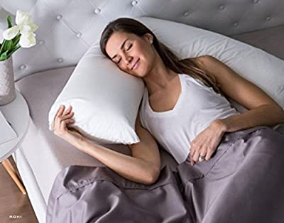 ROHI NEW MEDICAL Living Orthopaedic V Shaped Support pillow Includes Complimentary Cream Pillow Case FREE