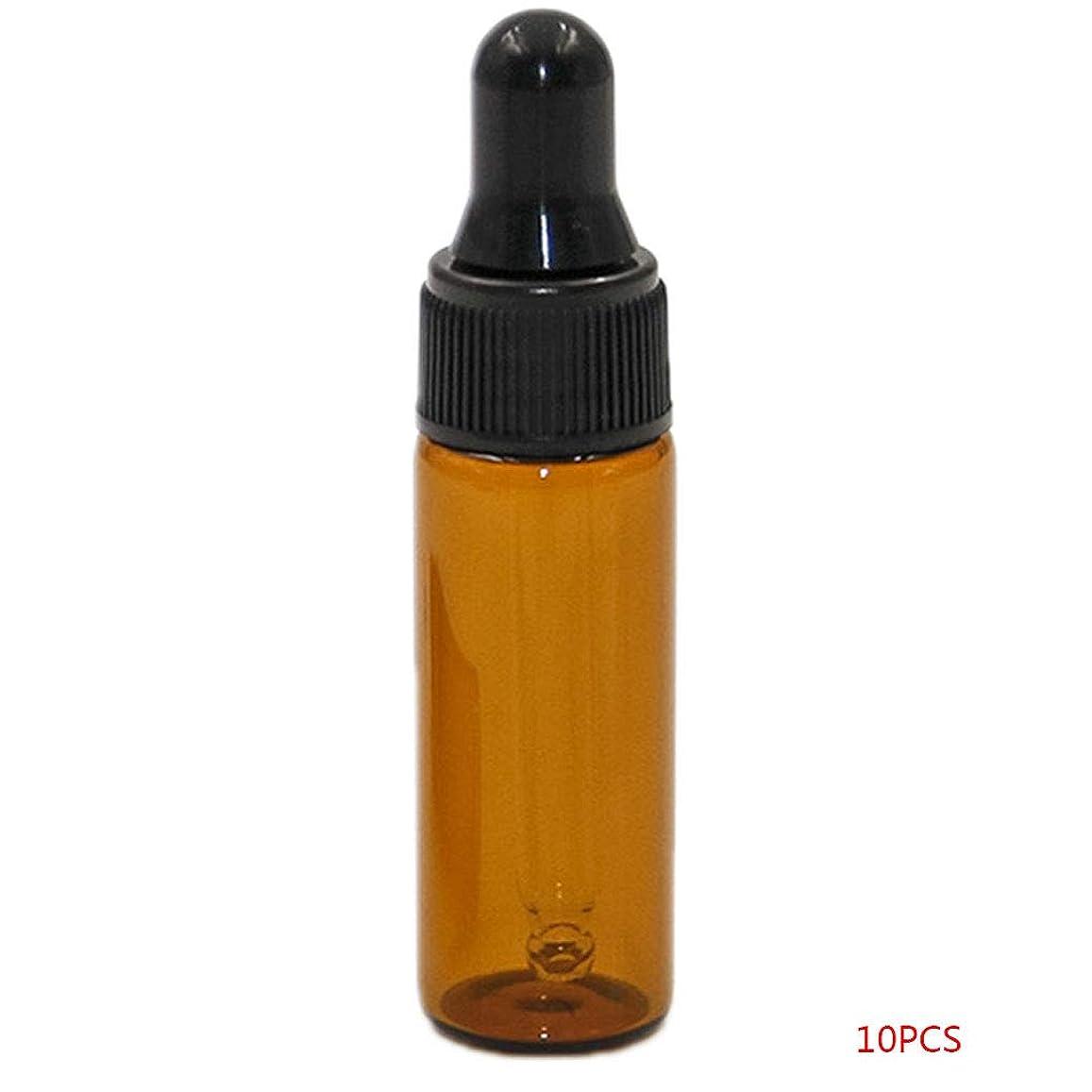 広告する宅配便サーキットに行くuzinby アロマオイル 精油 小分け用 遮光瓶 セット 茶 ガラス アロマ ボトル オイル 用 茶色 瓶 ビン エッセンシャルオイル 保存 詰替え 瓶 ビン