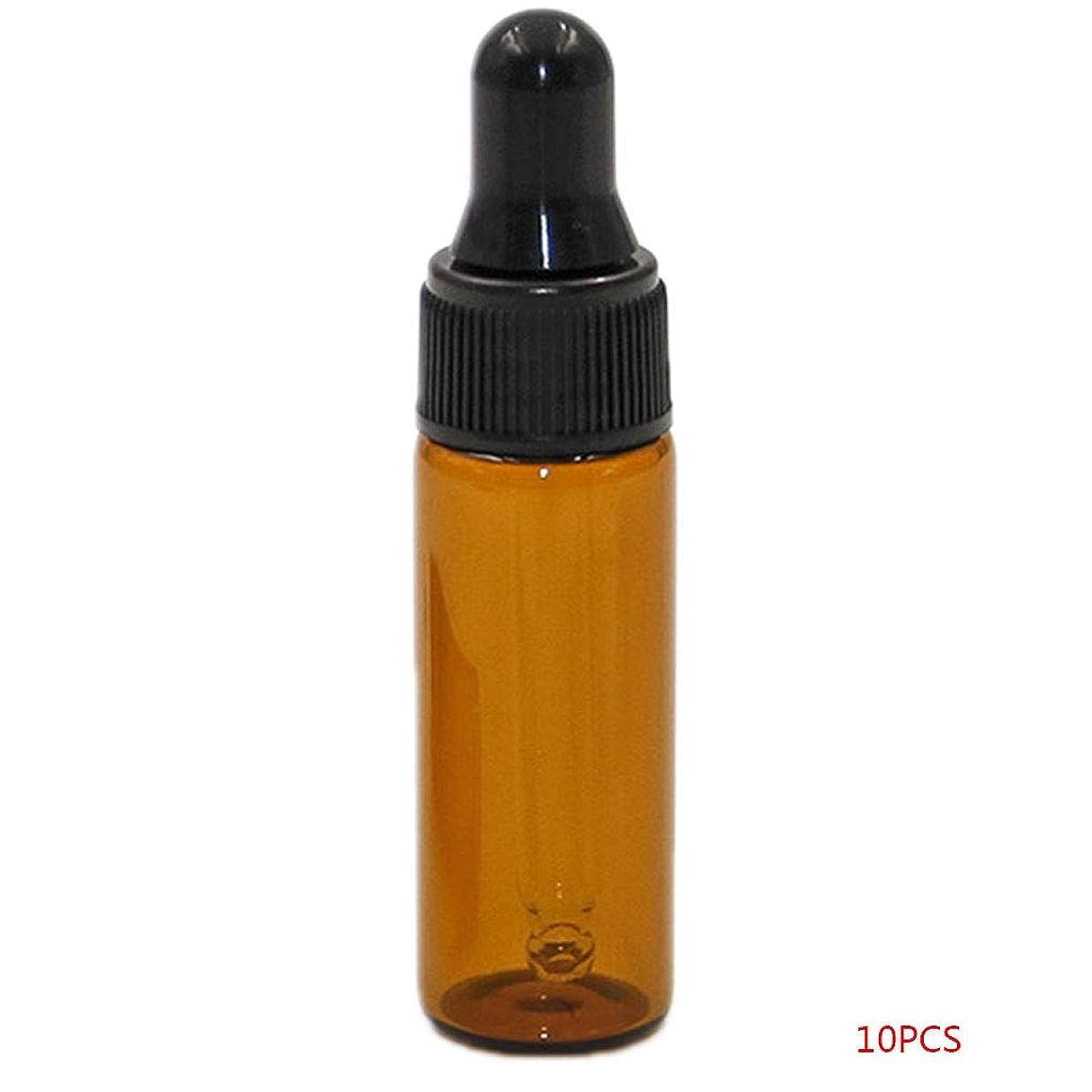固執順番推測するTopFires アロマオイル 精油 小分け用 遮光瓶 セット 茶 ガラス アロマ ボトル オイル 用 茶色 瓶 ビン エッセンシャルオイル 保存 詰替え 瓶 ビン