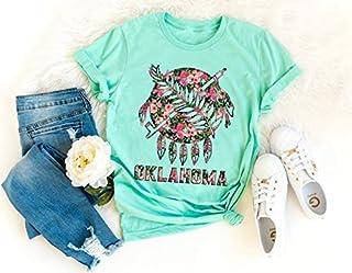 Floral Oklahoma Shirt, Home State Shirt, Home Shirt, Where I'm From State Shirt, Home, Oklahoma State, Okie Girl, OU, OSU