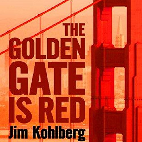 The Golden Gate Is Red audiobook cover art