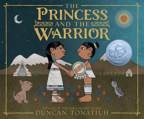 The Princess and the Warrior A Tale of Two Volcanoes Americas Award for Children s and Young product image