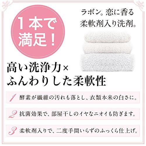 第3位ネイチャーラボラボンルランジェ『ラボン柔軟剤入り洗剤』