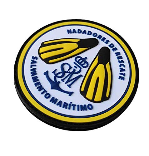 Desconocido Parche Helimer Nadadores de Rescate Salvamento Maritimo 3D PVC Spain Search and Rescue Swimmers Patch