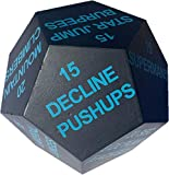 Series 8 Fitness Exercise Dice 2020 Edition - Intermediate Light Blue