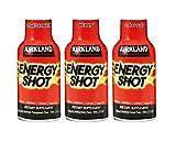 Kirkland Signature Energy Shot, Dietary Supplement: 48 Bottles Variety Pack of 2 Fl Oz