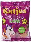 Katjes Wunderland – Saure Fruchtgummi Süßigkeiten in magischen Formen und Farben – Einhorn, Regenbogen,...