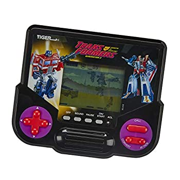 Tiger Electronics Transformers Robots in Disguise Generation 2 Electronic LCD Video Game Retro-Inspired 1 Player Handheld Game Ages 8 and Up