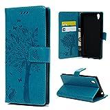 Sony Xperia L1 Lederhülle YOKIRIN Wallet Case für Sony