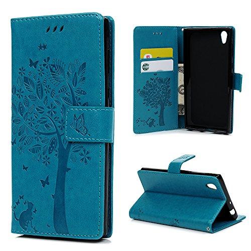 Sony Xperia L1 Lederhülle YOKIRIN Wallet Hülle für Sony Xperia L1 / E6 5.5