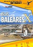 Extension de Flight Simulator Islas Baleares PC , FS-X y 2004, en Español.