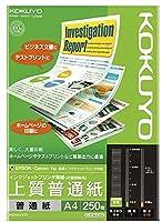 コクヨ IJP用紙 上質普通紙 A4 250枚 KJ-P19A4-250 【10セット】