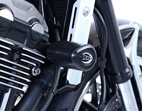 Tampons de Protection R&G Racing Aero Noir Kawasaki Z900RS