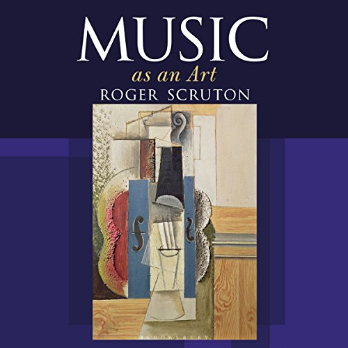 Music as an Art audiobook cover art