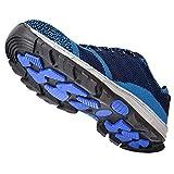 Scarpe antinfortunistiche per la ventilazione Scarpe antinfortunistiche per la protezione delle dita dei piedi(blue, 41)