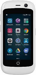 Unihertz Jelly Pro, 世界最小の4Gスマホ SIMフリー ミニスマートフォン 2.45インチ デュアルSIMカード Android 7.0 Nougat パールホワイト 白