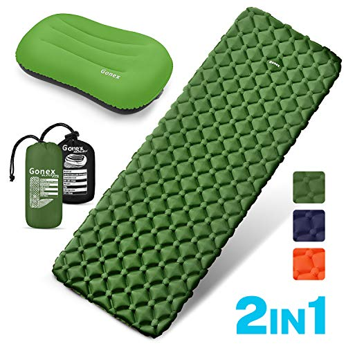 Insulated Self Inflating Camping Mat Bed Waterproof Portable Lightweight Foil