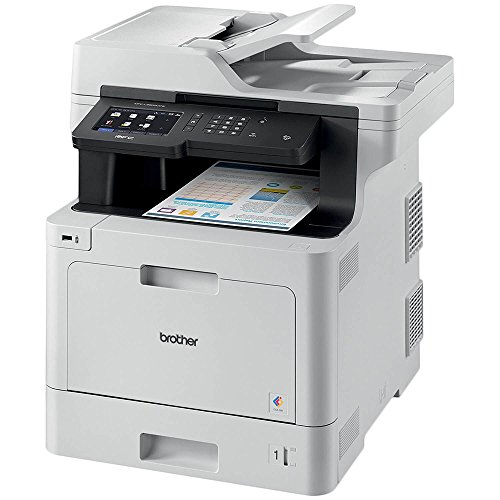 Brother MFC-L8900CDW Business Color Laser All-in-One Printer, Duplex & Wireless Networking