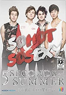 5 seconds of summer - so hot so sexy (dvd+booklet) DVD Italian Import by !!!