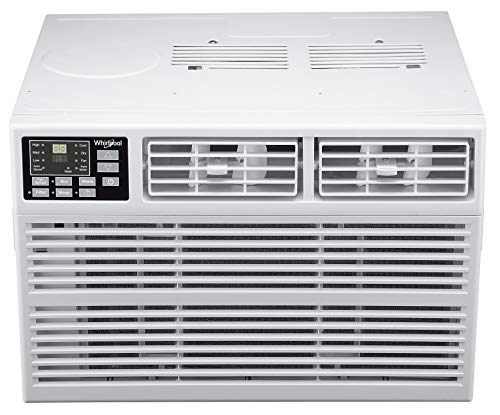 Whirlpool WHHW242AW Window-Mounted Air Conditioner, 24,000 BTU, White