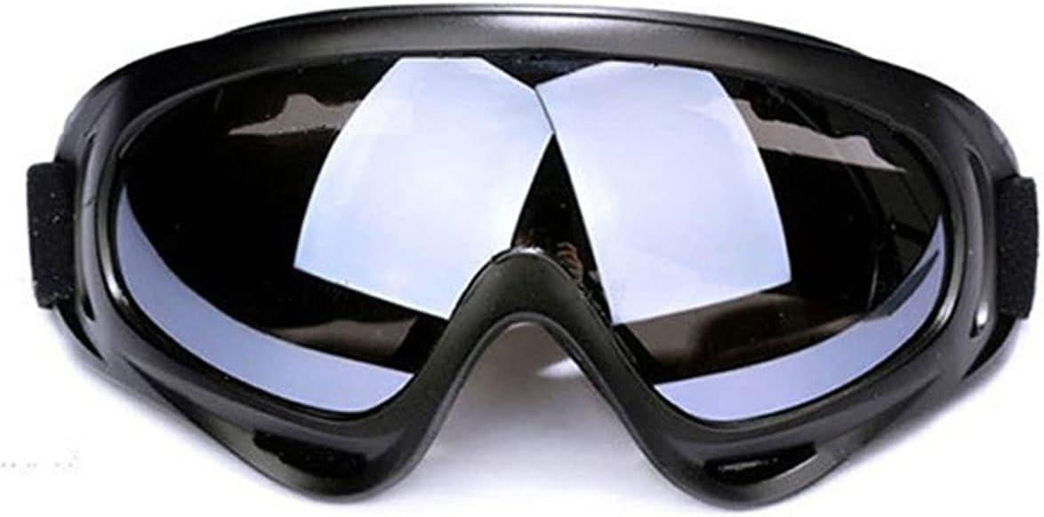 Wzdszuilhxj Gafas Ski, Eyewear de esquí, Moto al Aire Libre Deportes para Adultos Profesional DE Profesiones Protectores Protectores Protectores DE Pieles SUEBLA SKEATE SKEING Goggles (Color : Gray)