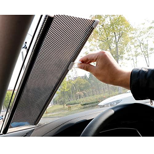 Parasol Automático para Automóvil, Protector Solar De Enfriamiento Y Cortina De Aislamiento Térmico, Parabrisas Retráctil Automático