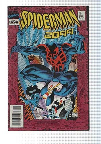 comic, forum: Spiderman 2099 num 01 de 12