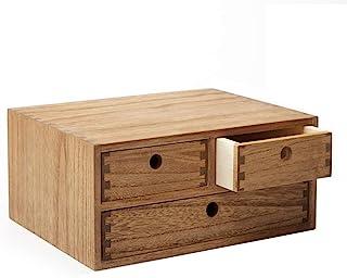 Kirigen Organisateur de bureau en bois Fournitures de bureau Classement Étagère de rangement Armoire de rangement Bijoux O...