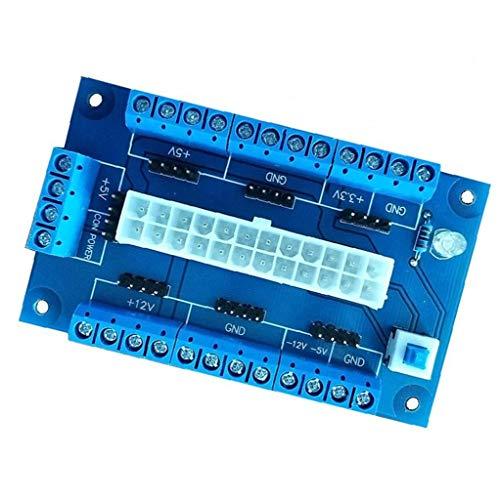 Stromversorgungsmodul Desktop-Power Module Adapter ATX Netzteil-Platine Benchtop 24 20 Pins