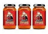 Guy Fieri Old Skool Traditional Pasta Sauce 25 oz (3 Pack)