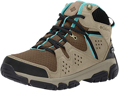 Columbia Femme Chaussures de Randonnée, Imperméable, ISOTERRA MID OUTDRY, Taille 40, Brun (Mud, Teal)