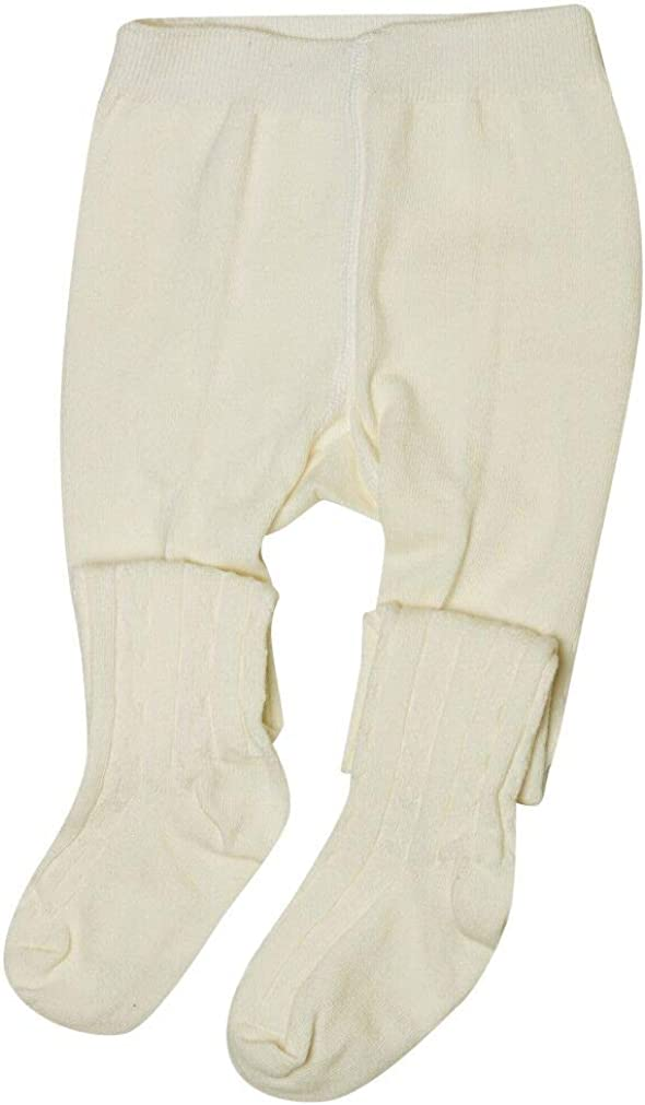 Baby Girls Thick Cable Knit Tights for Newborn Infant Toddler