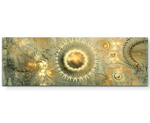 Sinus Art Ma liberté Wandbild auf Leinwand Enigma Serie 150x50cm