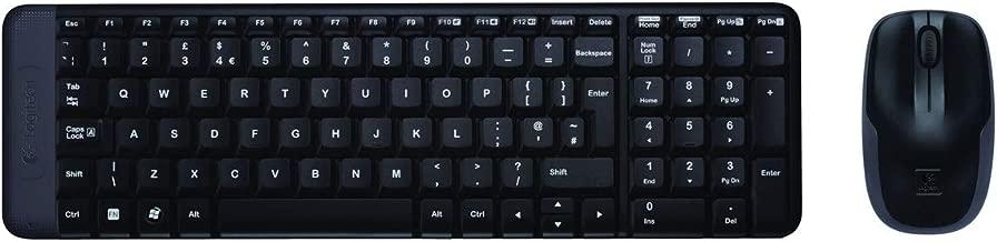 Logitech MK220 Kablosuz Klavye  Mouse Set, Q Klavye,  TR Layout, 2.4 GHz USB Receiver, 24 Klavye - 5 Ay Mouse Pil Ömrü, PC / Laptop ile Uyumlu, Siyah